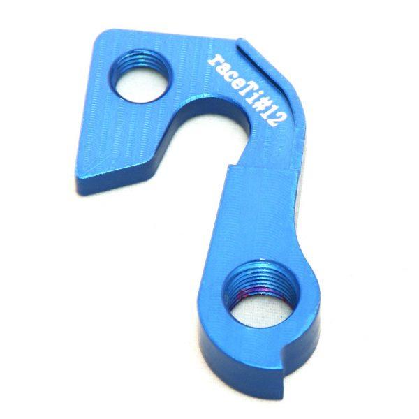 raceTi#12blue CNC mech hanger blue GT