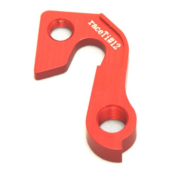 raceTi#12red CNC mech hanger red GT