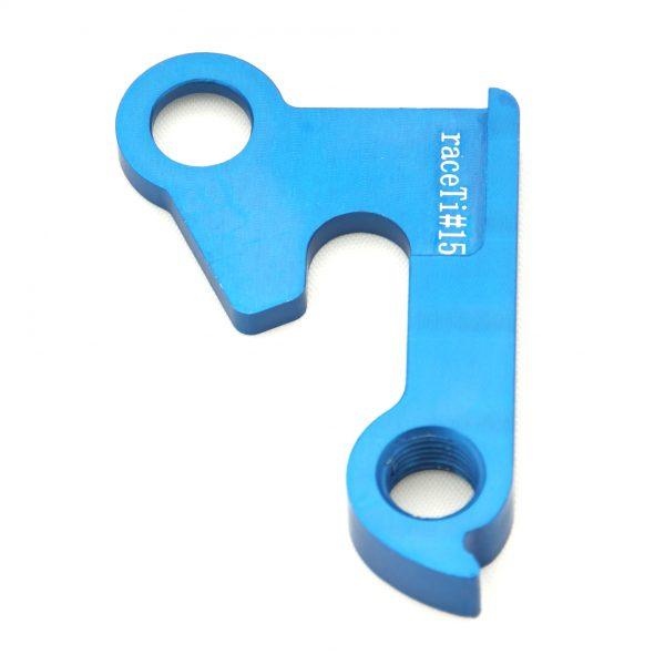 raceTi#15blue CNC mech hanger blue GT