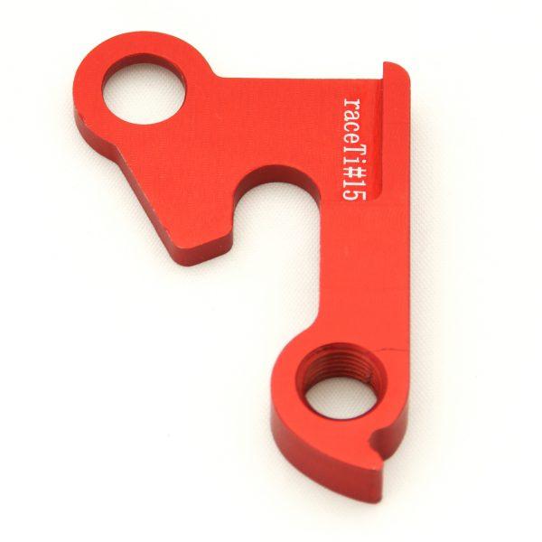 raceTi#15red CNC mech hanger red GT
