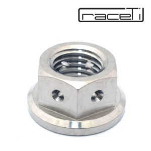 Hex Flange Drilled for lockwire